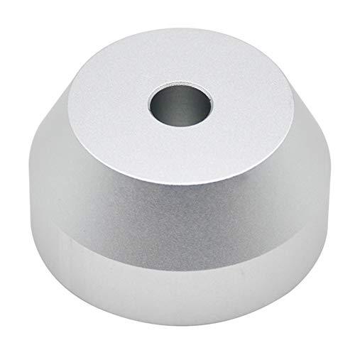 Adattatore per giradischi da 45 giri/min, in alluminio, adattatore da 7 pollici per dischi in vinile Dome 45