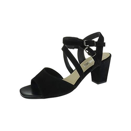 Gabor 2185017 - Sandalias para Mujer (tacón Negro)