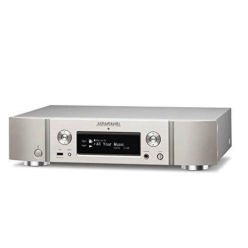 Marantz NA6005/N1SG Netzwerk-Audioplayer (WLAN, Bluetooth, Spotify, Airplay, Internetradio) silber-gold