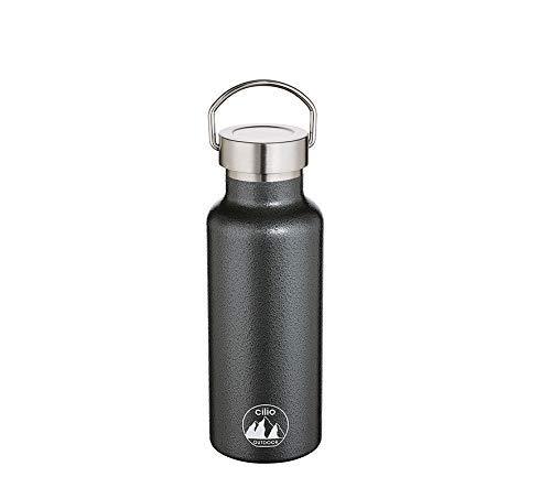 Cilio 545630 Grigio Isoliertrinkflasche 750ml 18/10 Stahl