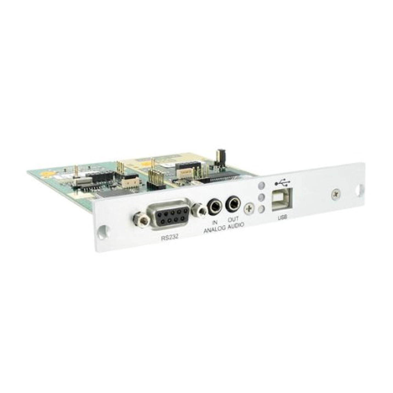むしろ見習い発行するDKM HDビデオと周辺機器マトリックススイッチ送信機モジュラーインターフェースカード、拡張インターフェース双方向アナログオーディオ、RS232とUSB HID