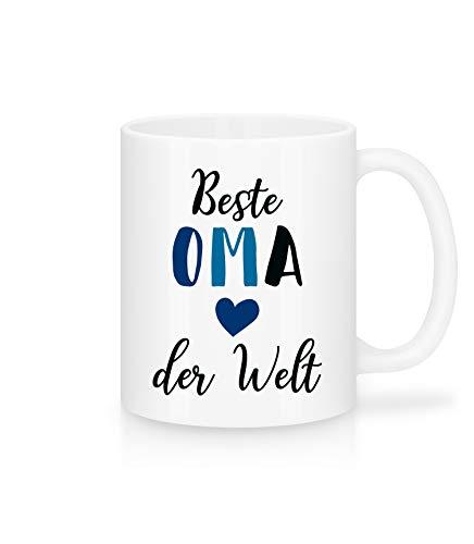 Shirtinator Tasse Beste Oma Der Welt I Geschenk-Ideen für Oma Geburtstag Muttertag Kaffee-Tasse