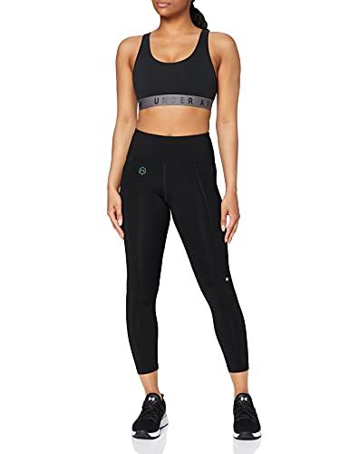 Under Armour Femmes UA Rush legging femme 7/8ème, pantalon running respirant avec technologie Rush, legging de sport léger à la coupe compression