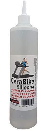 CeraBike Silicona 100% Lubricante para Cintas de Correr y Andar 530 ml