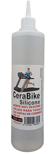 CeraBike Silikon-Schmiermittel für Laufbänder und Laufband, 530 ml