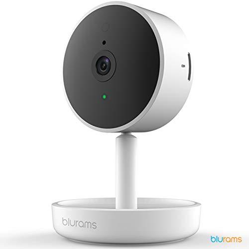 Blurams Home Pro Cámara domo FHD 1080p Vigilancia doméstica-WiFi Micrófono-Altavoz Detección inteligente Personas / Animales / Sonidos Alertas Área privada móvil Tiempo real (iOs y Android)