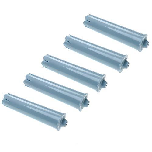 vhbw 5x Wasserfilter Filter passend für Jura Impressa E50, Impressa E55, Impressa E60 Kaffeevollautomat, Espressomaschine