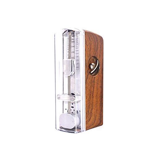 Metronomo meccanico con temporizzazione e tempo accurati, metronomo portatile universale per pianoforte, chitarra, basso tamburo, violino, ideale per amanti della musica, principianti o musicisti