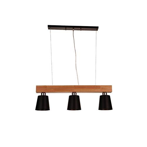 Vintage lampen restaurant licht eenvoudige creatieve LED Drie houten vloerlamp werkkamer lampen IKEA hout persoonlijkheid lampen Wddwarmhome