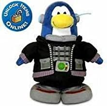 Unique Super RARE Disney Club Penguin TACTICAL SPY AGENT 6.5