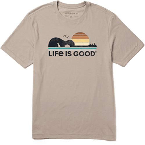 Life is Good Guitar Dog Cool Tee