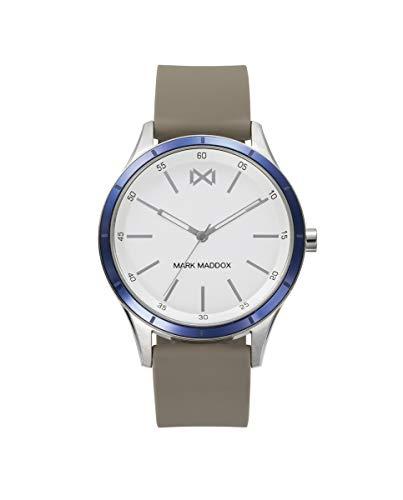 Reloj Caucho marrón Mark Maddox Caballero.HC7114-07