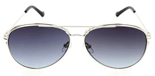 adidas Sonnenbrille AOM016 Gafas de sol, Plateado (Silver), 58.0 Unisex Adulto