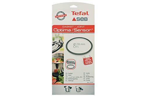 Tefal SEB 791947 Junta para Olla A Presión, Silicona, Gris, 23.5 cm, 1 Unidad