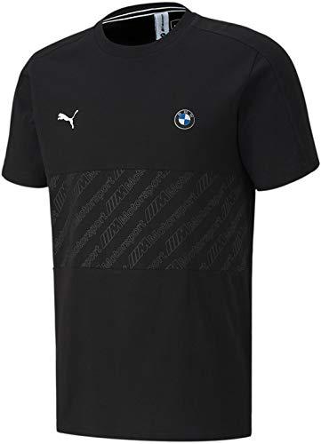 PUMA Herren BMW MMS T7 Tee T-Shirt, Black, Mittel