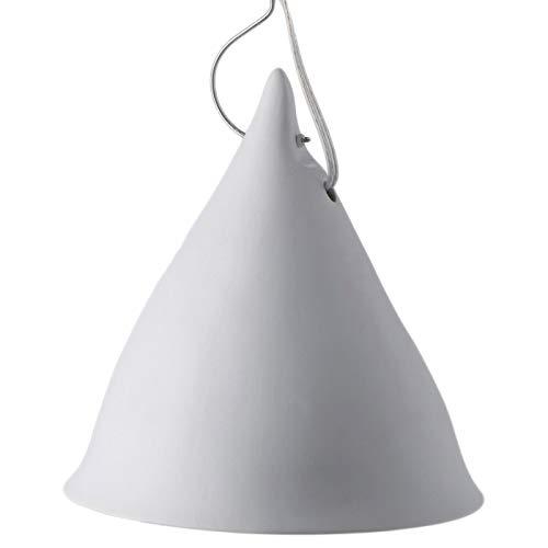 Tsé & Tsé Associées Grande Lampe Cornette Suspendue Porcelaine