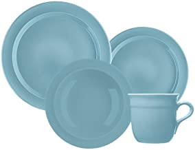 Emile Henry 16-Piece Urban Dinnerware Set, Service for 4, Sky