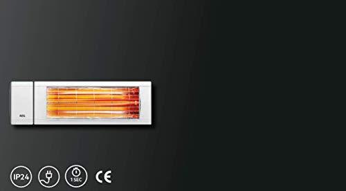 AEG Kurzwellen-Heizstrahler IR Comfort 2024, 2000 W, hocheffiziente Qualitäts-Goldröhre, 229954 - 7