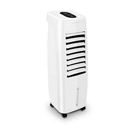 Turbionaire Easy Cool - Refrigerador evaporador, purificador y humidificador de aire, silencioso, perfecto para uso interior y exterior protegido, 50 W, depósito de 7 litros