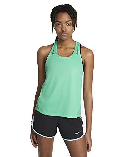 Nike Miler Running Top Mujer, verde, M