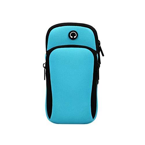 U/B Bolsa para brazaletes, bolsa de brazo para teléfono móvil, soporte para llaves de coche, bolsa de ejercicio, para adultos, mujeres y hombres, deportes al aire libre, correr, correr