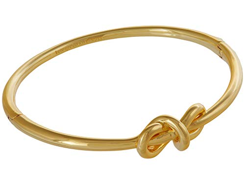 Kate Spade New York with A Twist Knot Hinged Bangle Gold One Size