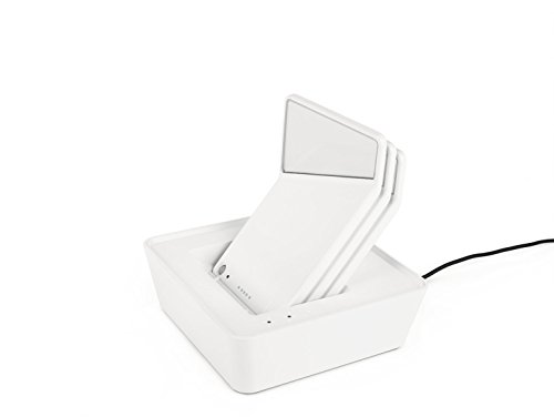 Nimbus Winglet CL Set 3, Wand-Leuchte, akku-betrieben, kabellose LED-Lampe, dimmbar, Bewegungsmelder, Set mit 3 x Wandleuchten, 1 x Ladestation, weiß matt