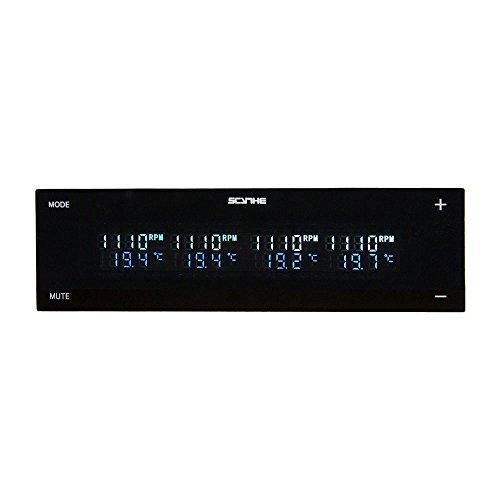 Scythe KM08-BK Régulateur de Ventilateur