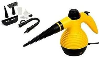 Vaporeta limpiador al vapor compacto de mano, 8 accesorios,