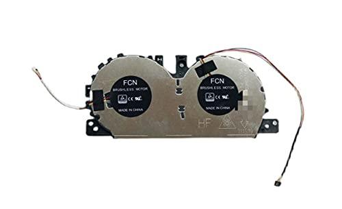 HuiHan Reemplazo para ventilador de refrigeración de CPU Lenovo YOGA C740-15 C740-15IML FLMU DFS1507053H0T 5H40S19962
