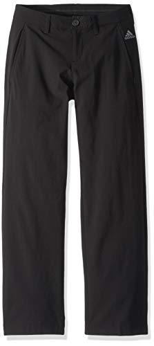 adidas Robuste Golfhose für Jungen, Jungen, Hosen, Solid Golf Pant, schwarz, X-Large
