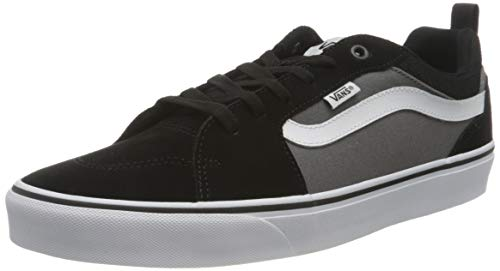Vans Filmore, Sneaker Uomo, Suede Canvas Black/Pewter T2J, 43 EU