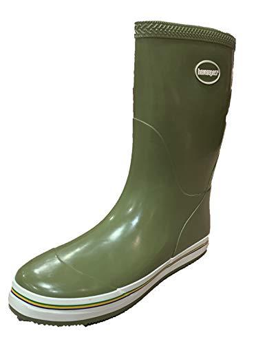 Havaianas Aqua Rain Boots, Bottes femme - Vert - Dark Khaki, 35 EU EU