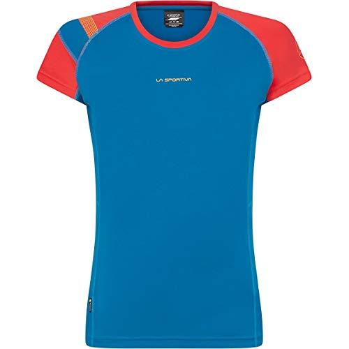 LA SPORTIVA Move - Camiseta deportiva para mujer, color Nptune-hibisco, tamaño L