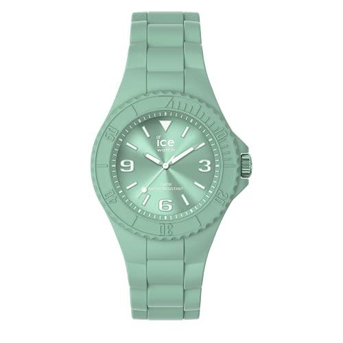 ICE-WATCH ICE Generation Lagoon - Reloj Verde para Mujer con Correa de Silicona, 019145 (Small)
