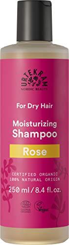 Urtekram Champú de Rosas BIO, cabello seco, 250ml