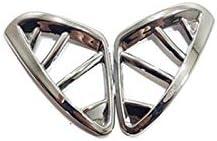 ZXZCV Fit pour Renault Captur 20132016 pour Accessoires dautocollants int 233;rieurs de Voiture pour la Voiture Lecture de la Voiture CouvreLampe de Panneau Garniture ABS Chrome 1PCS