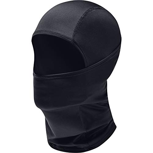 Under Armour Adult HeatGear Tactical Balaclava , Black (001)/Black , One Size Fits All
