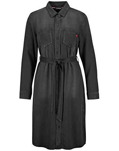 Taifun 580022-11065 Vestido Casual, Negro, 38 para Mujer