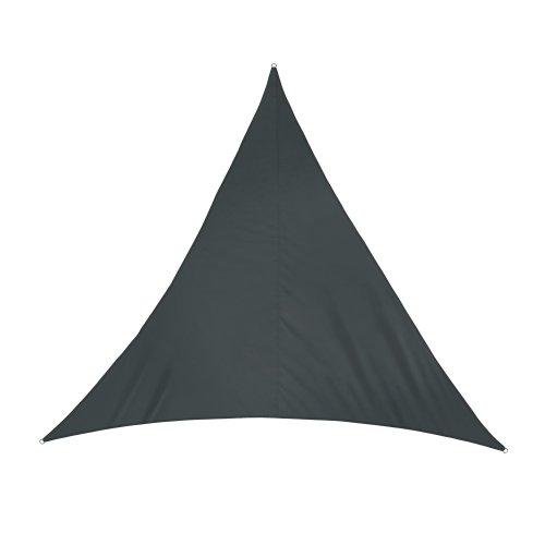 jarolift Sonnensegel Dreieck wasserabweisend, 360 x 360 x 360 cm, anthrazit