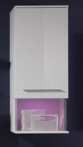 Wohnwand – Modern in weiß Bild 6*