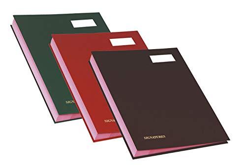 Exacompta 22120E Libro Firma, 24x32.5 cm, Multicolore