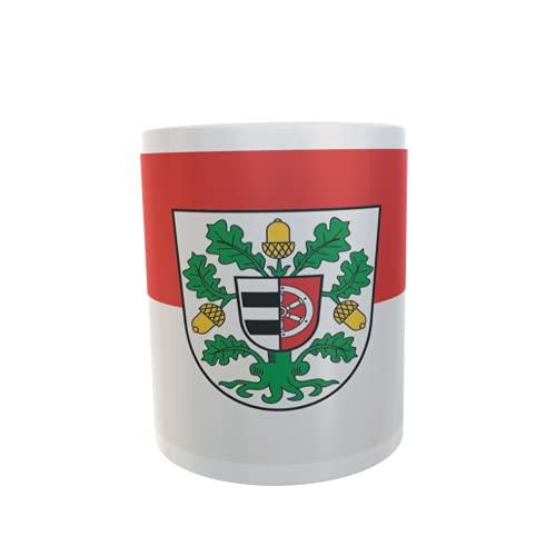 U24 Tasse Kaffeebecher Mug Cup Flagge Landkreis Offenbach