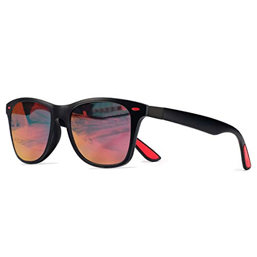 CHEREEKI Orange Einheitsgröße Sonnenbrille Polarisierte mit UV400 Schutz