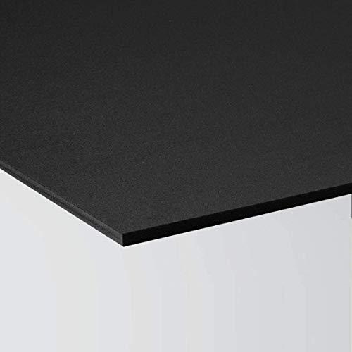 Pannello Lastra Forex 70x100 cm pvc nero altissima qualità spessore 3 mm