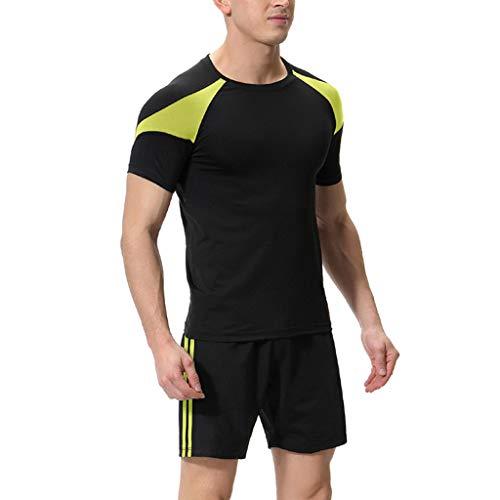 Berimaterry Maillots de Ciclismo Hombres Camiseta y Pantalones Cortos de Ciclismo Conjunto...