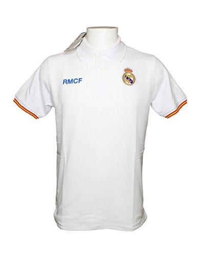 Real Madrid Poloshirt für Erwachsene, offizielles Produkt (XL)