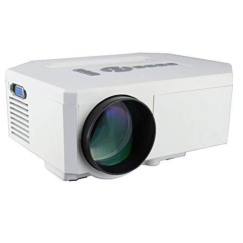 UC30 100'HD Portátil Multi-Media LED Proyector Home Cine Teatro HDMI/AV/VGA/USB/SD/Micro USB (Blanco)