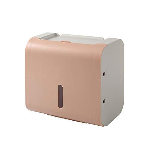 Caja de Tejido montado en Pared Doble diseño Caja de Tejido Multifuncional Caja de Tejido para Uso doméstico Caja de Tejido Bombeo Rollo de Papel Rollo de Papel