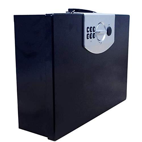Big Shark Elektronische veiligheidsbox voor ontgrendeling van je huis in de auto, mini-lade, geld, veilig opbergen voor munten, check-sieraden, kleine laptops.